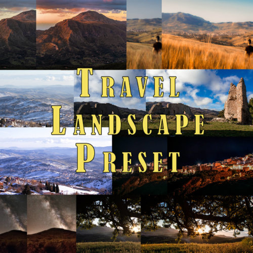 lightroom premium preset travel landscape preset