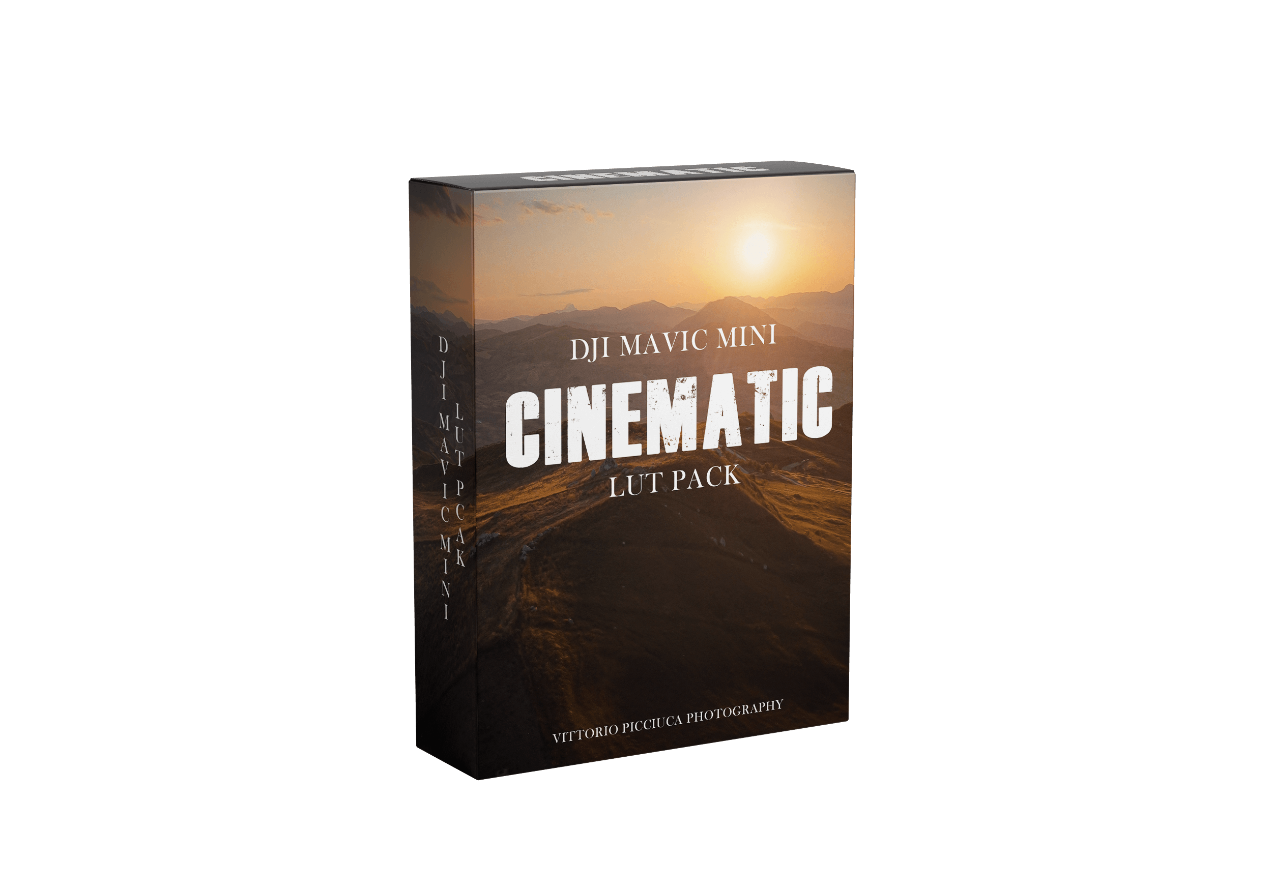 Mavic Mini Cinematic Lut Pack
